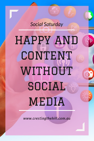 Discovering how reducing your Social Media can free up space in your life