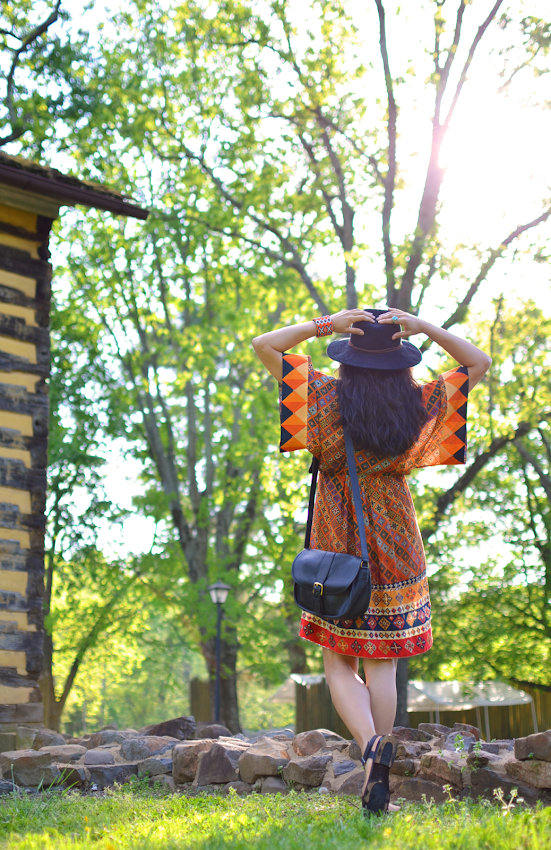 How to style a bohemian dress