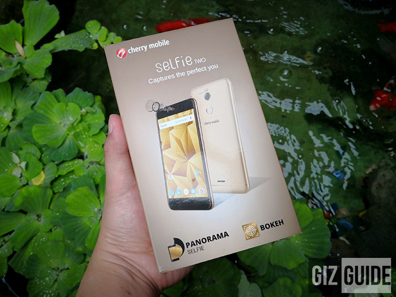 Raffle: Cherry Mobile Selfie Two with 13MP f/2.0 Samsung back and front cameras!