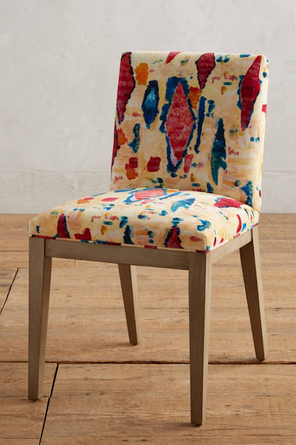 Anthropologie Medina Abstract Emrys Dining Chair