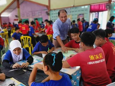Semarak STEM di SMK Dalat, Mukah