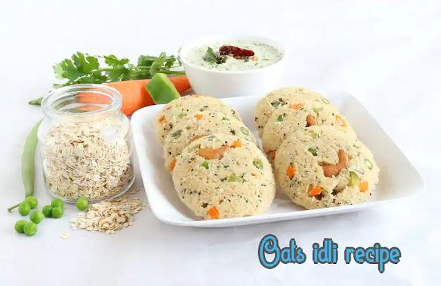 Oats idli recipe | How to make instant oats idli | Oatmeal idli
