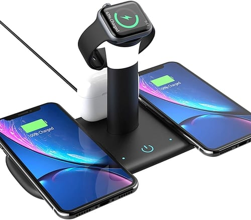 Ballaber Multi-Function 3 in 1 Wireless Charging Station