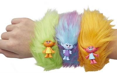 Игрушки браслеты Trolls Hair Huggers