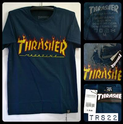 Kaos Distro Surfing Skate THRASHER Premium Kode TRS22