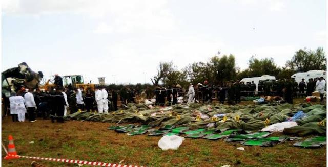 30 saharawiske flyktninger døde i flystyrt