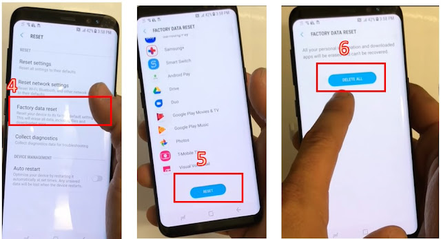cara reset handphone samsung - 2