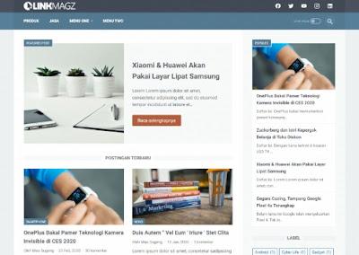 link magz, template terbaik karya mas sugeng