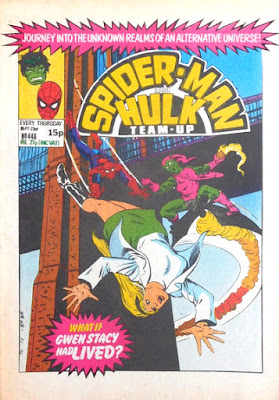 Spider-Man and Hulk Team-Up #446, what if Gwen Stacy had lived?