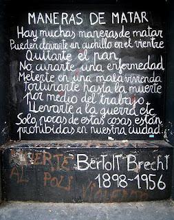Frases Célebres Maneras De Matar Bertolt Brecht
