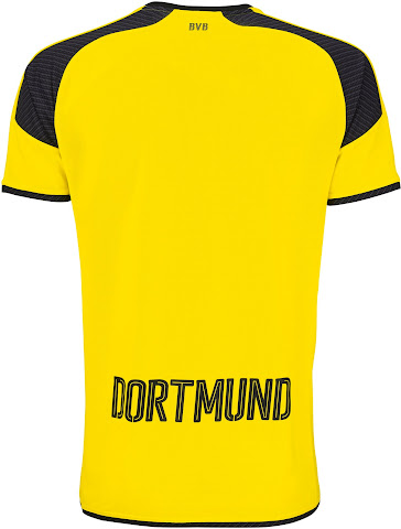 ef47cf395ab Borussia Dortmund 16-17 Champions League Kit. This is the new Puma Dortmund  International jersey.