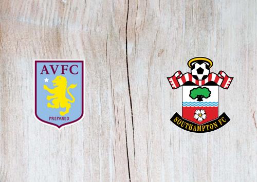 Aston Villa vs Southampton -Highlights 01 November 2020