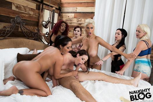 Brazzers Exxtra – Bridgette B, Ava Addams & Angela White