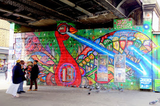 Sunday Street Art : dAcRuZ et Marko 93 - avenue Jean Jaurès - Paris 19