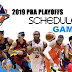 2019 PBA Commissioner's Cup Playoffs Schedule & Brackets
