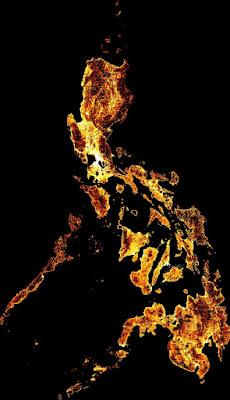 Distribusi jumlah penduduk perempuan di Filipina. Gambar tersebut dihasilkan dari gabungan antara gambar satelit dan data sensus. Peta ini sangat bermanfaat bagi organisasi kesehatan ketika melakukan pelayanan dan edukasi tentang kehamilan atau keluarga berencana, dan juga organisasi non profit yang berfokus pada pemberdayaan perempuan atau program pinjaman yang menargetkan perempuan wirausaha