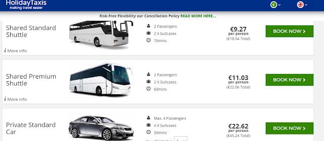 Трансфер из аэропорта Даламан в Фетхие стоит от 9 евро за место в автобусе и от 22 евро за приватный трансфер