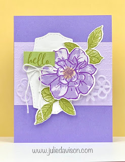 Stampin' Up! To a Wild Rose ~ Last Chance Favorites ~ www.juliedavison.com #stampinup