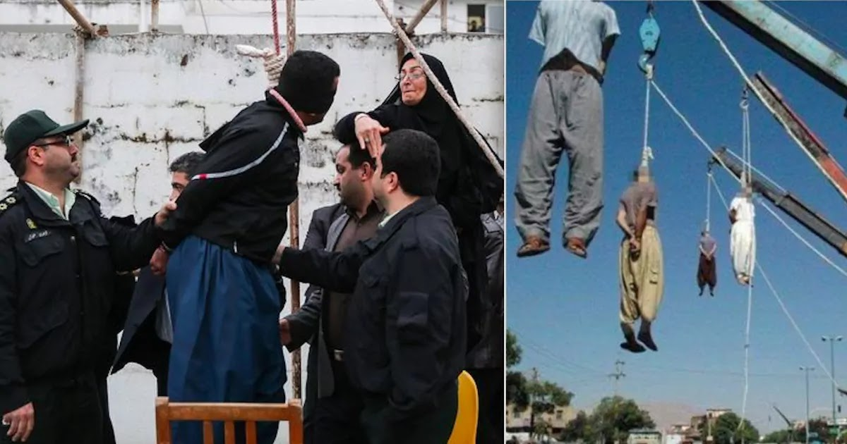 Four Iranian Men Hanged For The Gang Rape Of A Woman In Front Of Her Husband