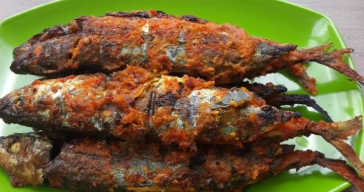 Resep Mudah Ikan Kembung Bakar Bumbu Padang 1