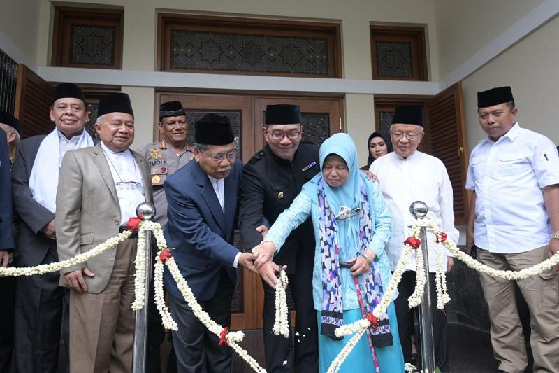 Ridwan Kamil Resmikan Gedung MUI Jabar