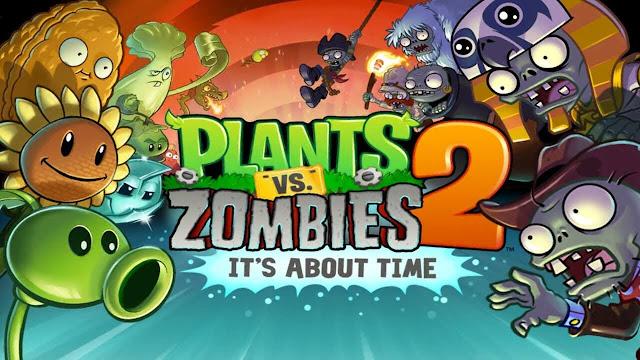 تحميل لعبة PLANTS VS. ZOMBIES 2 v5.4.1 مهكرة للاندرويد (اخر اصدار)