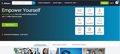 belajar online gratis desain grafis di alison course
