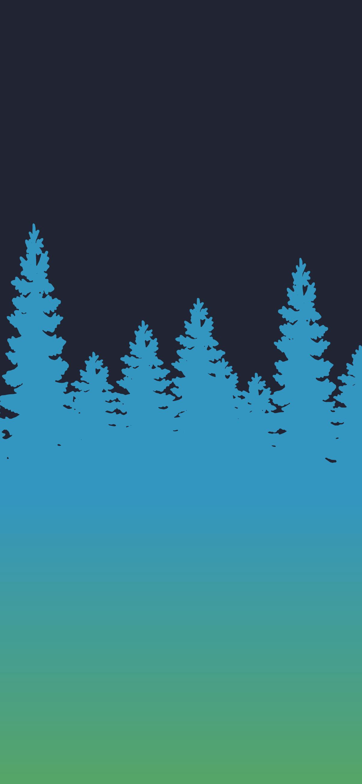 tree silhouette wallpaper