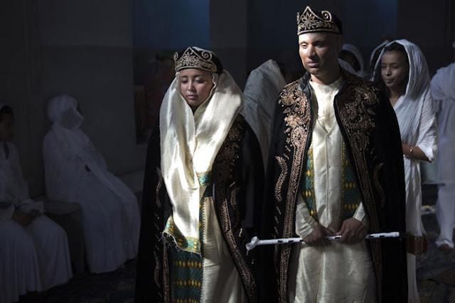 فستان الزفاف في إريتريا