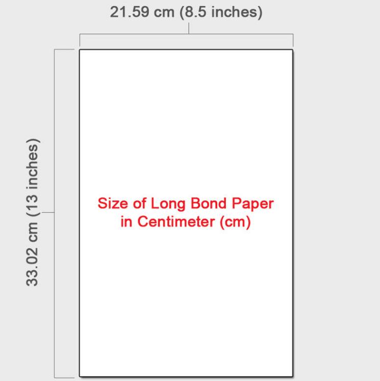 Long Bond Paper