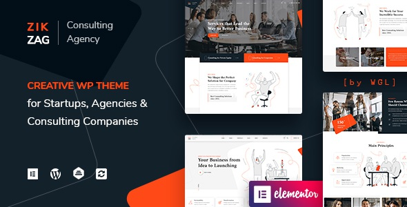 Consulting & Agency WordPress Template