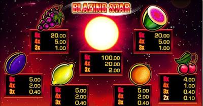 Blazing Star Merkur Gaming