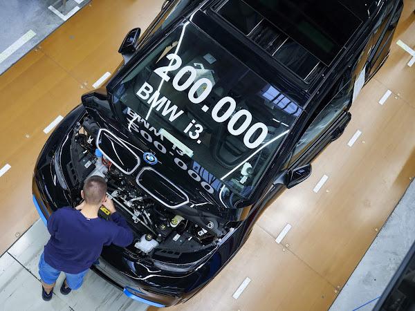 BMW comemora 200 mil i3 elétricos produzidos desde 2013