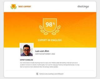 امتحان Duolingo