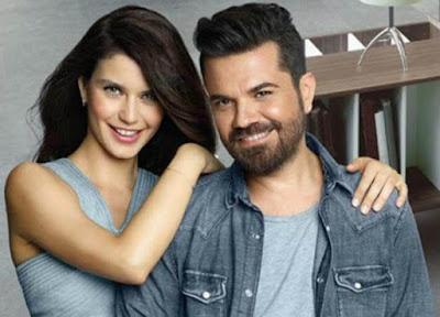 النجمة التركية بيرين سات بديو غنائي مع زوجها كنان دوغلو