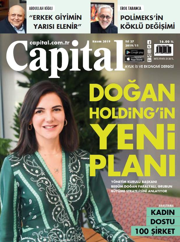 Capital Kasım 2019 PDF Dergi indir