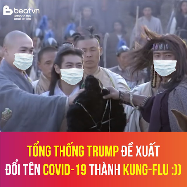 Tổng Thống Trump đề xuất đổi tên Covid-19 thành Kung-Flu