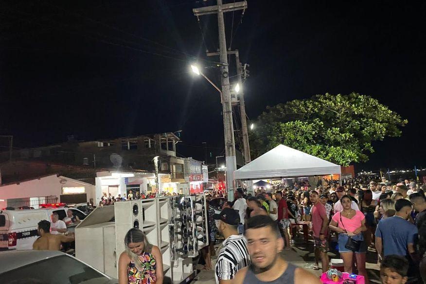 Em meio a pandemia, festas com aglomerações e pessoas sem máscaras são encerradas durante feriadão de Ano Novo em cidades da Paraíba