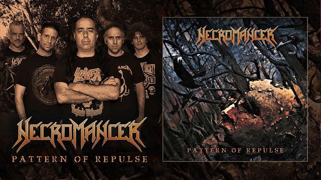 Necromancer divulga detalhes do novo álbum, 'Pattern of Repulse'