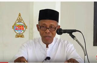 Ulama Kharismatik Aceh Abu Keunire Tutup Usia