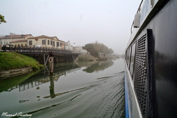 Il Burchiello in navigazione