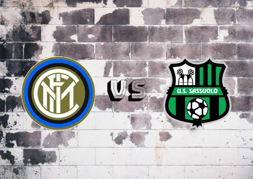 Internazionale vs Sassuolo  Resumen y Partido Completo