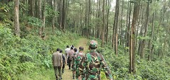 TNI-Polri Gelar Patroli Terpadu Cegah Karhutla