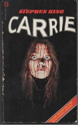 Stephen King - Biografia - Capa do livro Carrie