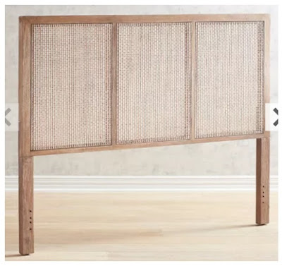 Affordable Rattan Headboard