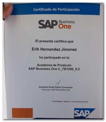 Erik, el consultor SAP de Agosto