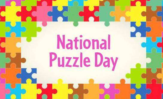 National Puzzle Day Wishes Unique Image
