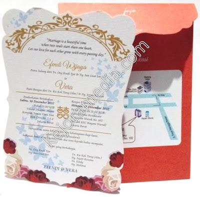 undangan soft cover fullcolor elegan brebes indramayu