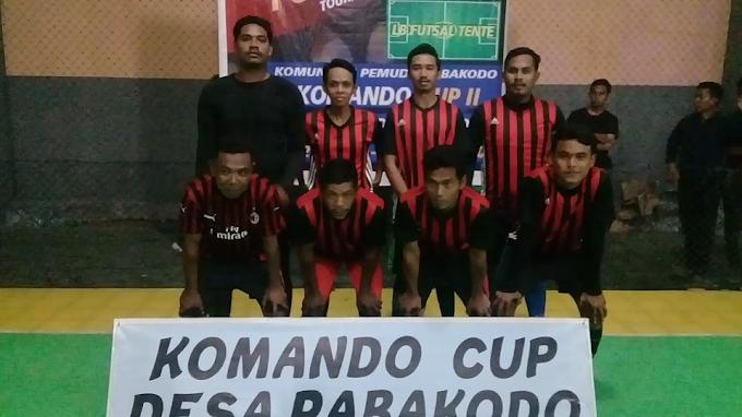 Hebat..! RT 01 Desa Rabakodo Lolos Semifinal Futsal Antar RT Rabakodo