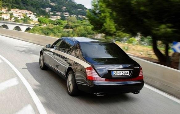 Mercedes Maybach S600 Pulman